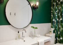 Dark-green-adds-tropical-touch-to-the-beach-style-bathroom-along-with-the-shower-curtain-217x155