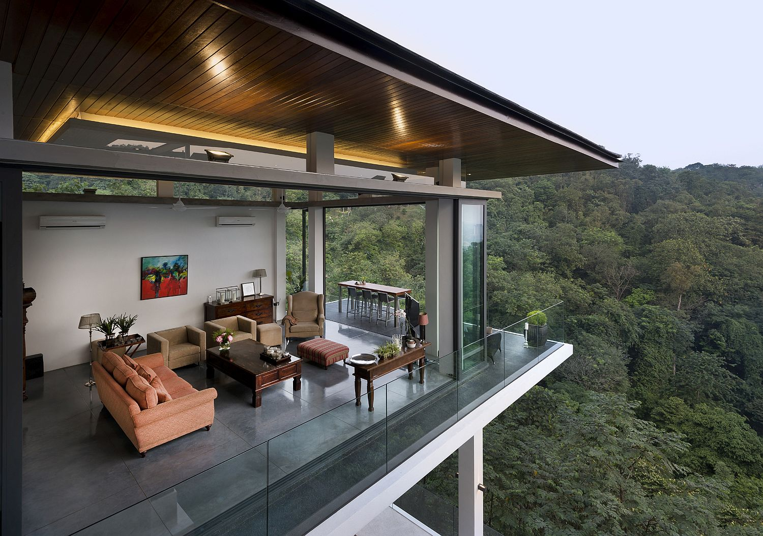 Spectacular Home Featured On Crazy Rich Asians With Amazing Forest Views
