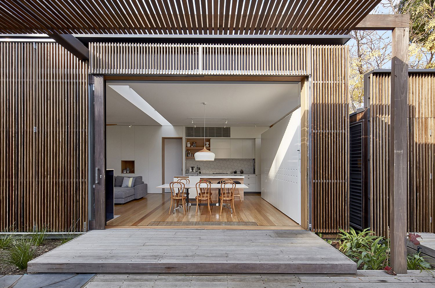 Timber Screens And An Open Plan Living Revamp This