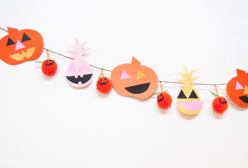Easy-Halloween-garland-idea