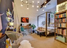 Eclectic-teen-bedroom-with-plenty-of-space-for-books-and-a-smart-study-area-217x155