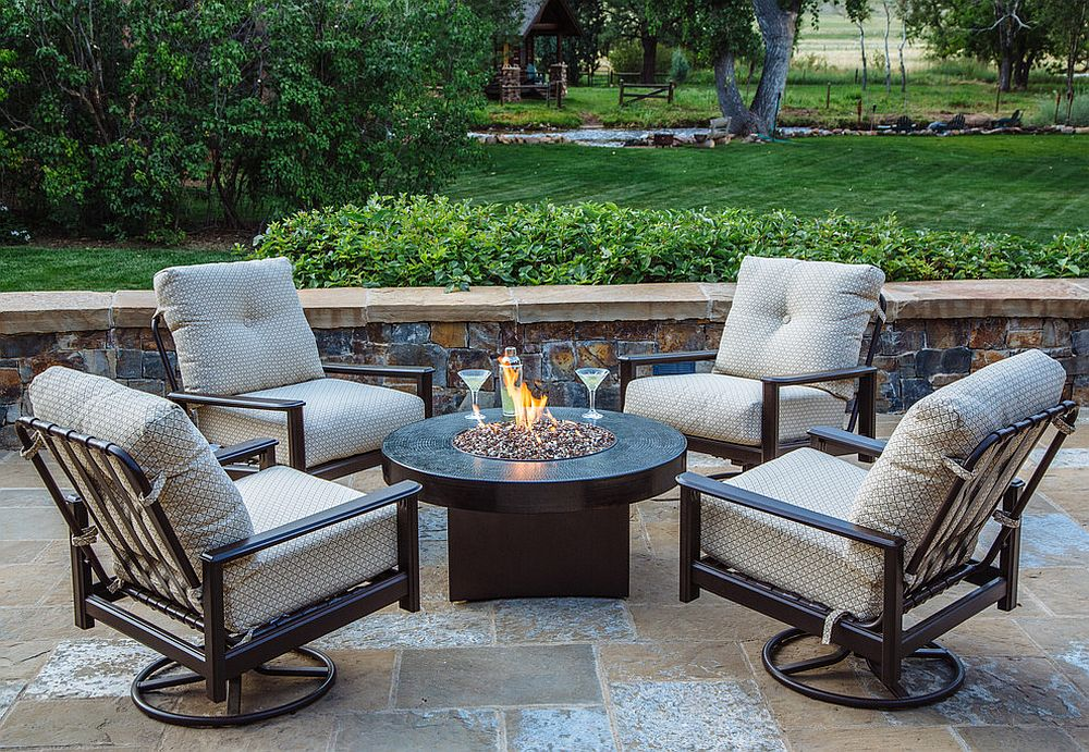 Elevate the fire pit to a whole new level!