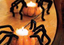 Fun-and-smart-spider-pumpkin-candles-DIY-217x155