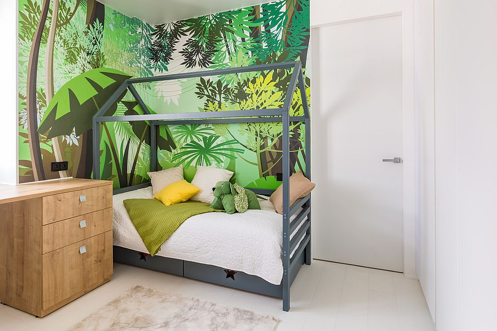 Refreshingly Trendy: How to Add Green to the Kids' Bedroom
