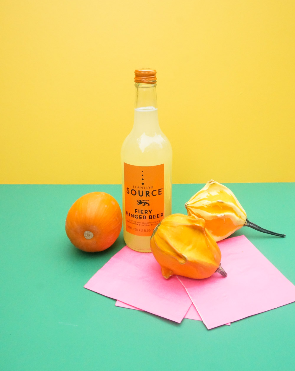 Ginger-beer-in-festive-packaging-is-a-fun-party-favor