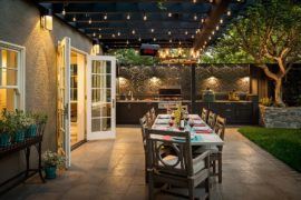 Pick Your Shade: Trendy Covered Patios and Decks that Take Fall Party Outdoors