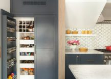 Gray-doors-give-even-an-old-pantry-a-visually-modern-upgrade-217x155