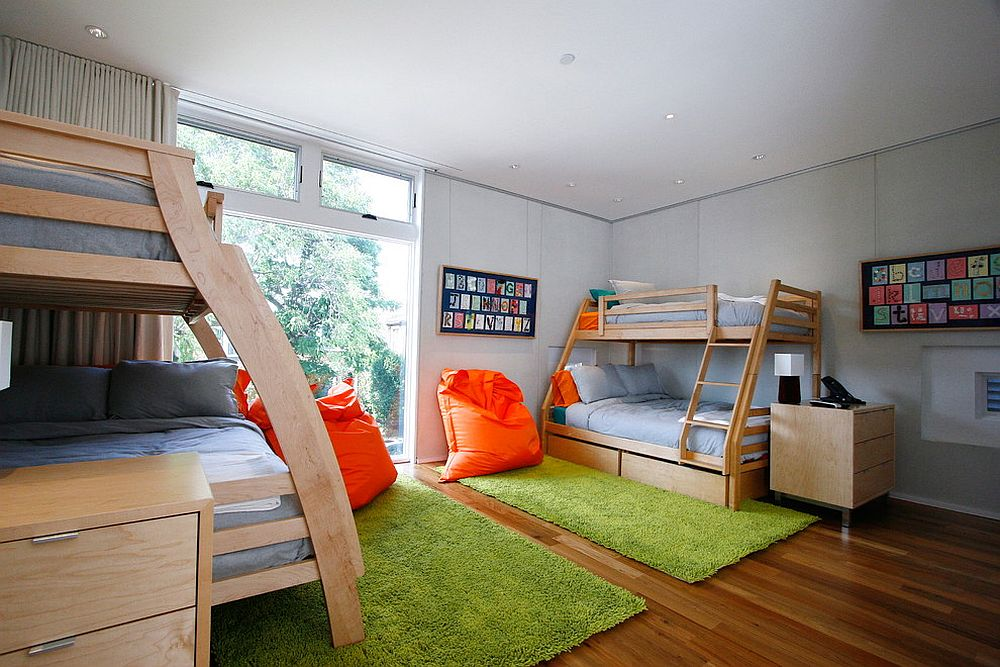 It-is-the-rugs-that-bring-greenery-to-this-contemporary-kids-room