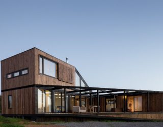 L-Shaped Home with Ocean Views Provides the Perfect Perennial Escape