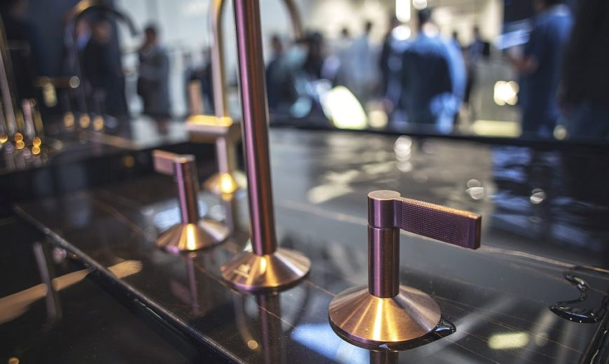 LIGNAGE by Ramon Esteve for Porcelanosa: Modern Faucets Inspired from the Past