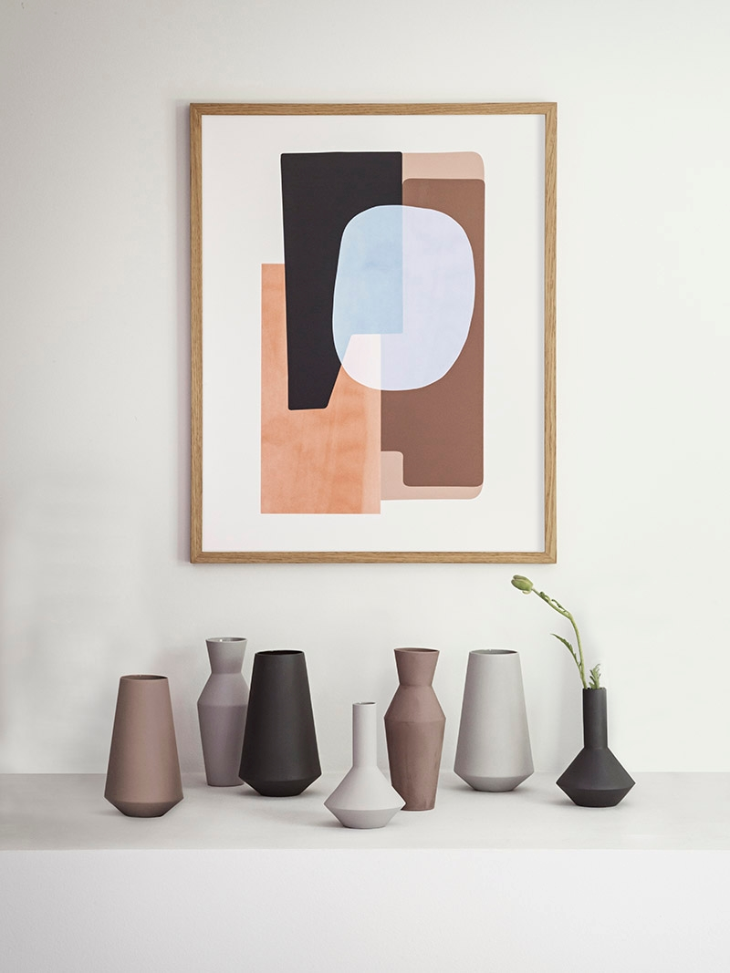 Modern vases from ferm LIVING