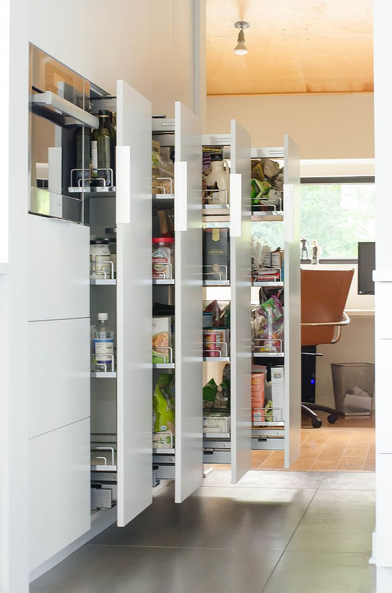 More modern and innovative approach to pantry design