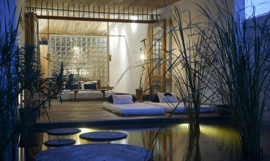 Exotic Tropical Bungalow Greets You with a Private Pool and Relaxing Ambiance