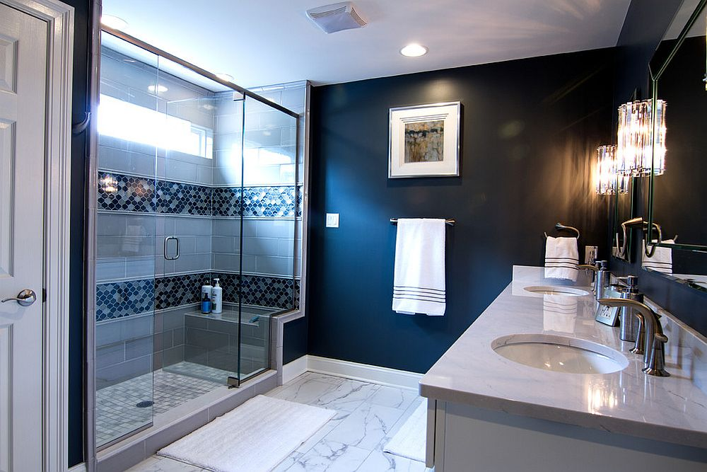 Navy-blue-brightens-any-bathroom-with-ease