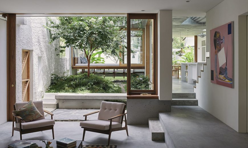 Gibbon Street: Integrating Open Design and Greenery with Classic Workers Cottage