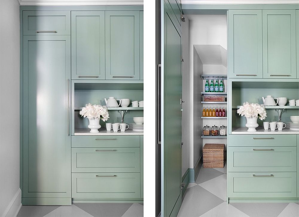 Pastel hues for the modern kitchen