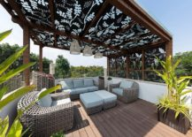 Perforated-panels-with-pattern-for-the-spacious-outdoor-deck-217x155