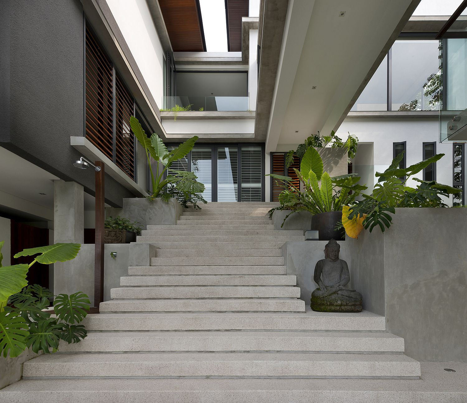 Modern Forest House: Spectacular Home Featured On Crazy Rich Asians With