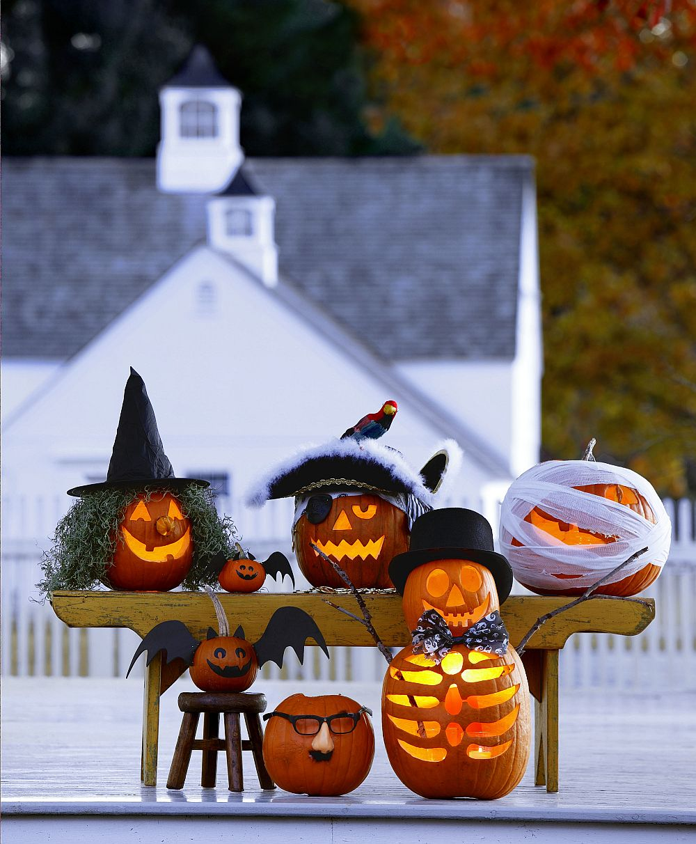 Pumpkin carving and jack-o-lanterns can help create the perfect Halloween in no time at all!