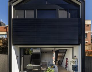 Space-Savvy Single Family Residence Combines Tradition with Modernity