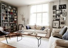 Scandinavian-style-living-space-with-bookshelf-and-gallery-wall-217x155