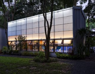 Colorful and Bright Building in Thailand Changes the Image of Boring Libraries!