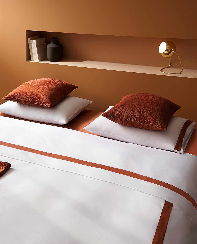Terracotta bedroom style from Zara Home