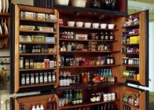 Utilizing-the-additional-storage-space-of-doors-to-make-most-of-the-pantry-217x155