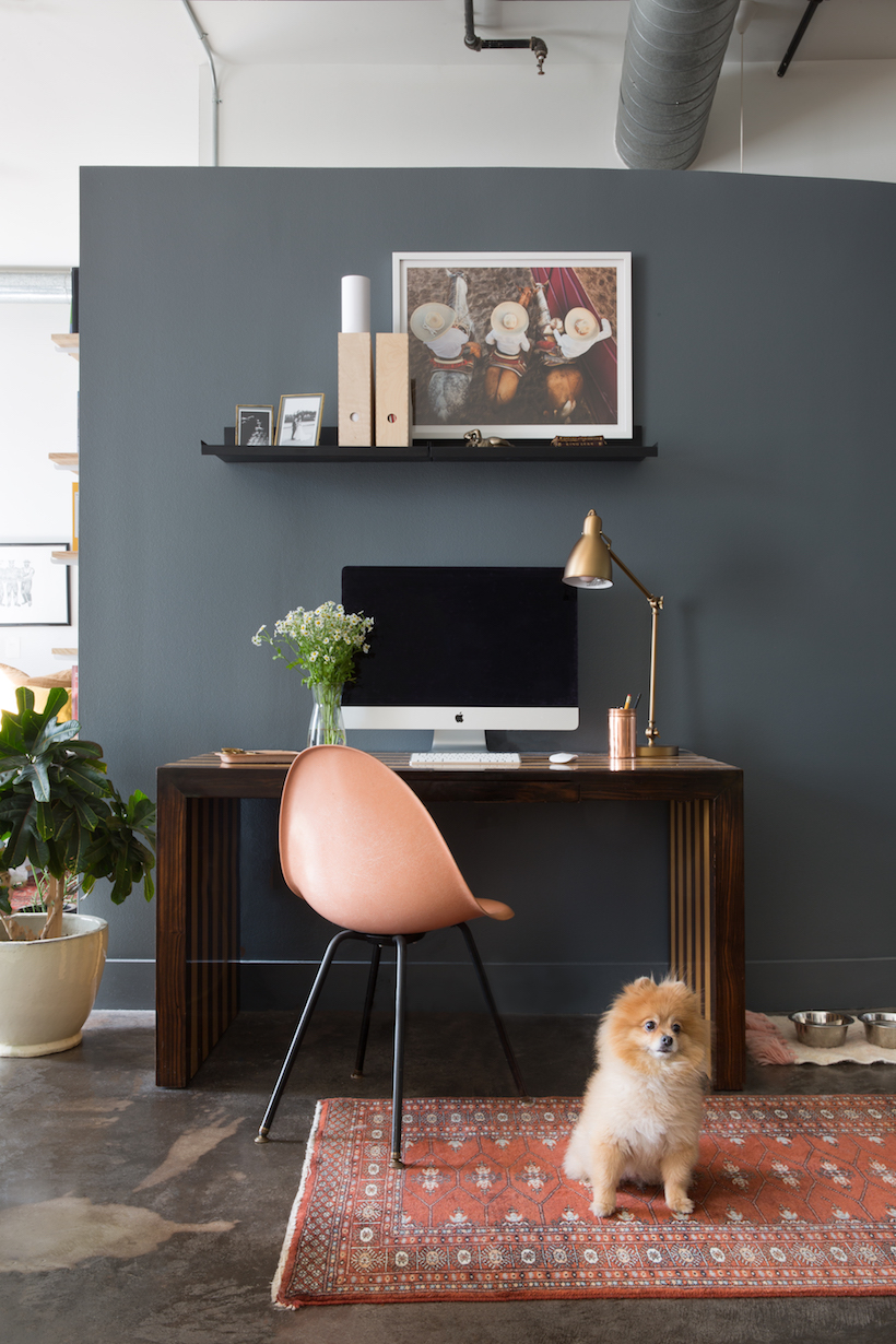 Workspace makeover featured at Camille Styles