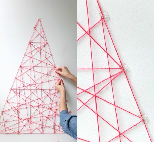 Artistic String DIY Christmas Tree