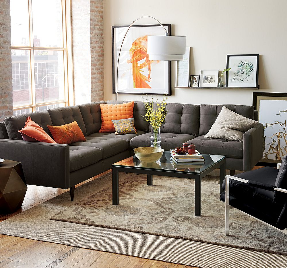 10 Exquisite Gray Couch Ideas for your Modern Living Room