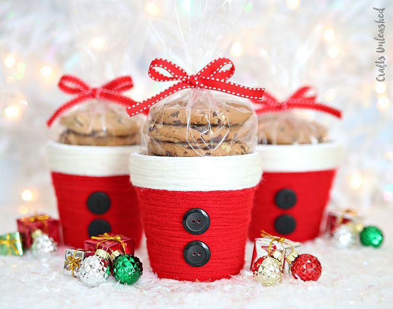 Christmas Treat Holders DIY Idea