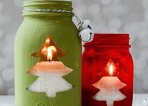 Christmas-tree-motifs-combined-with-Mason-Jars-always-work-well-217x155