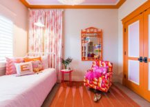 Colorful-girls-room-in-orange-pink-and-white-217x155