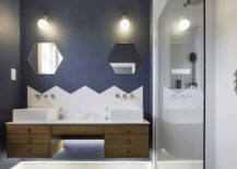 Contemporary-bathroom-in-bluish-gray-and-white-217x155