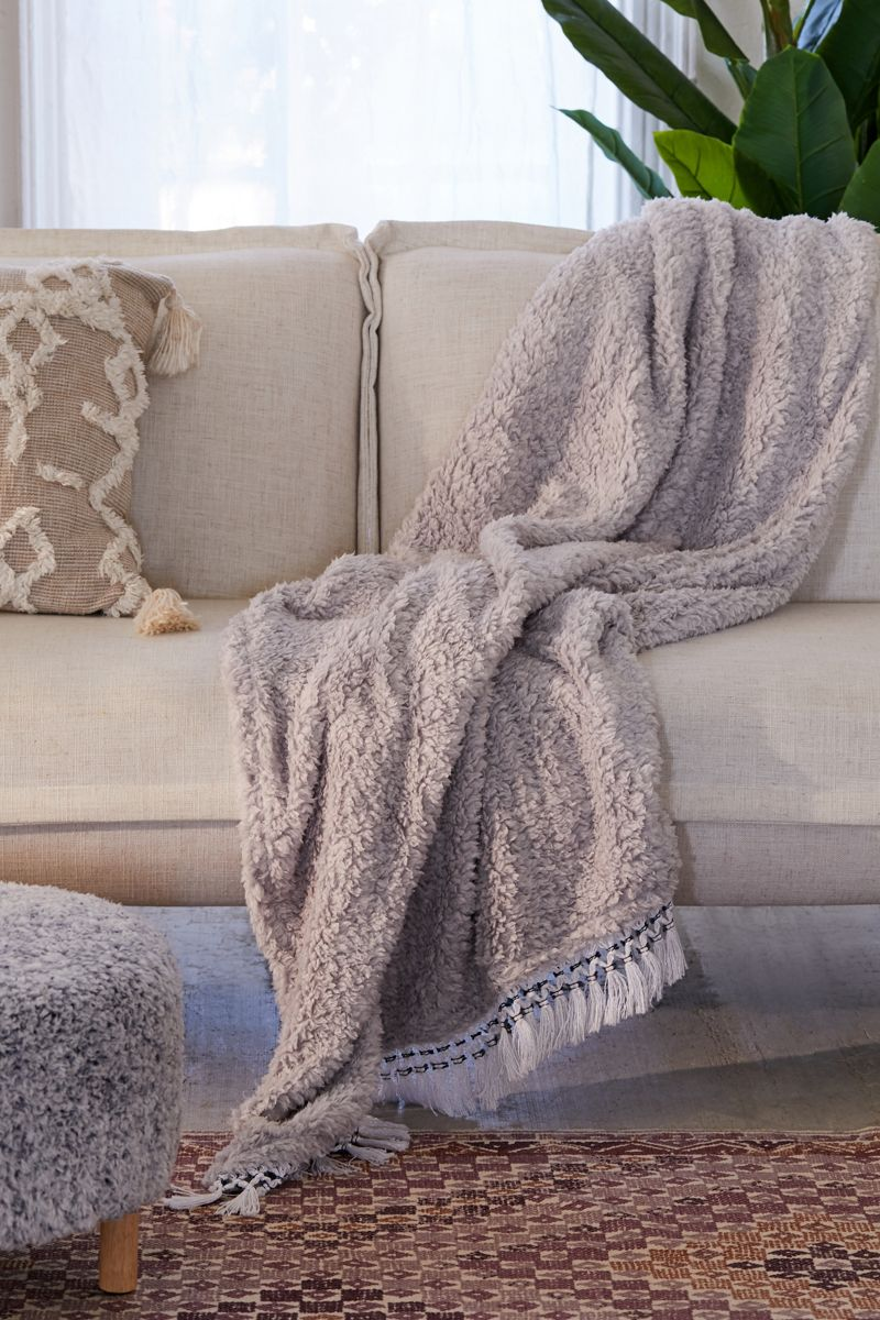 Cozy throw blanket from Urban Outfitters