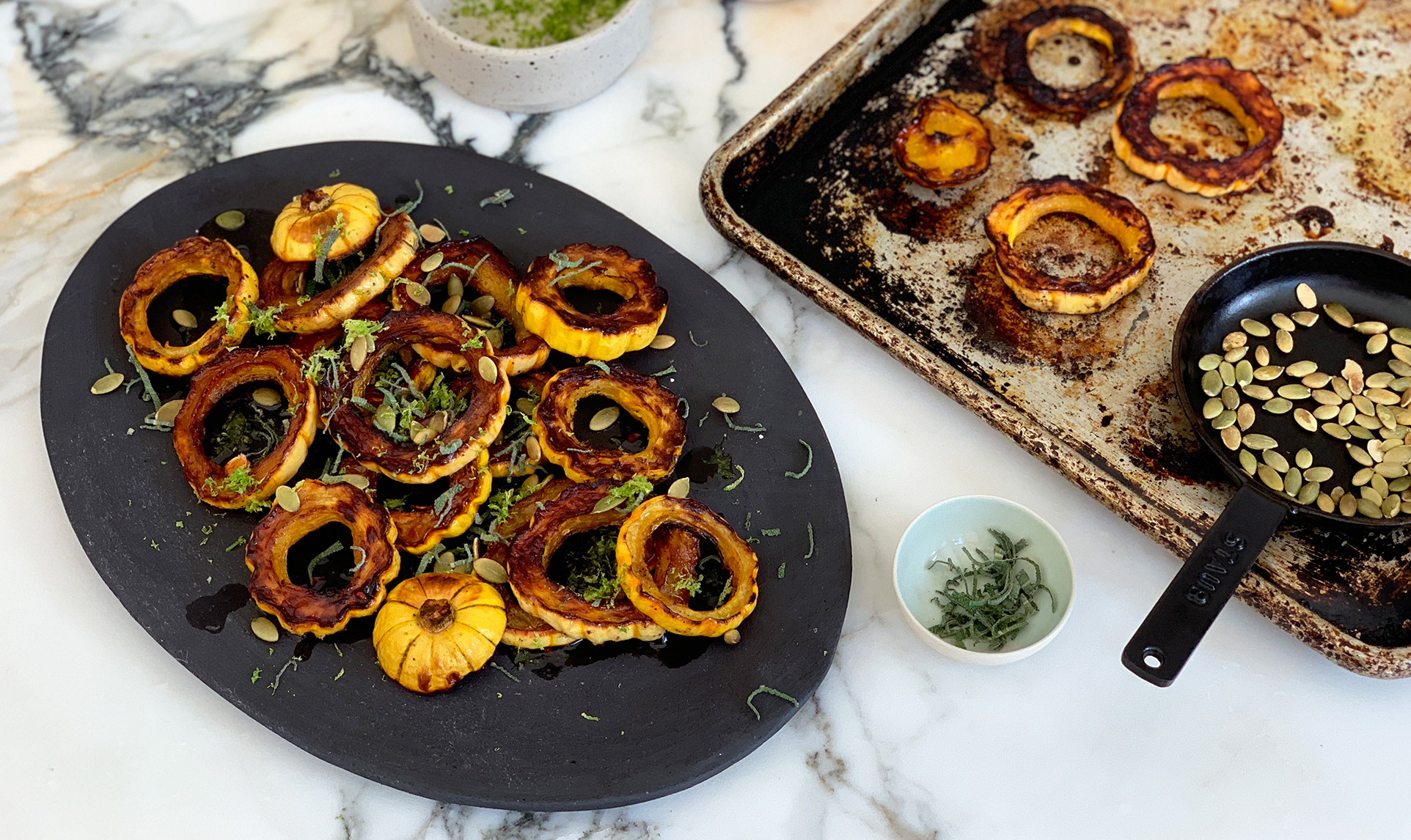 Delicata squash recipe from Athena Calderone