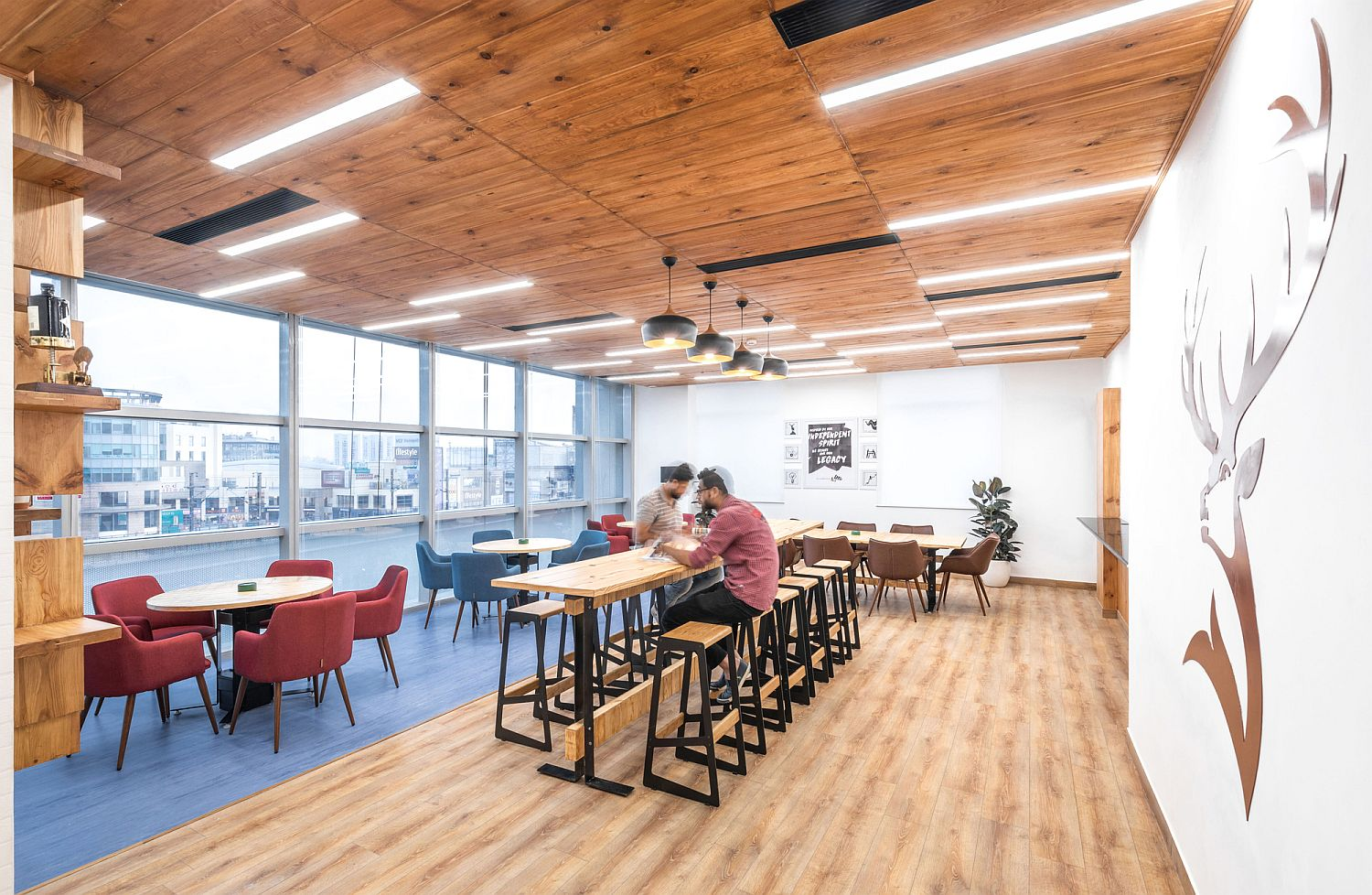 Exceptional office design in India moves away from the mundane