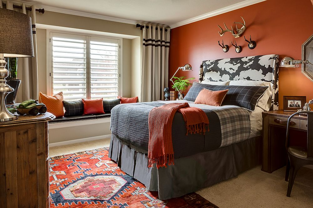 Exquisite kids' bedroom could easily pass as an adult space!