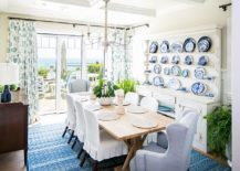Gallery-wall-crafted-using-exquisite-chinaware-in-the-dining-room-217x155