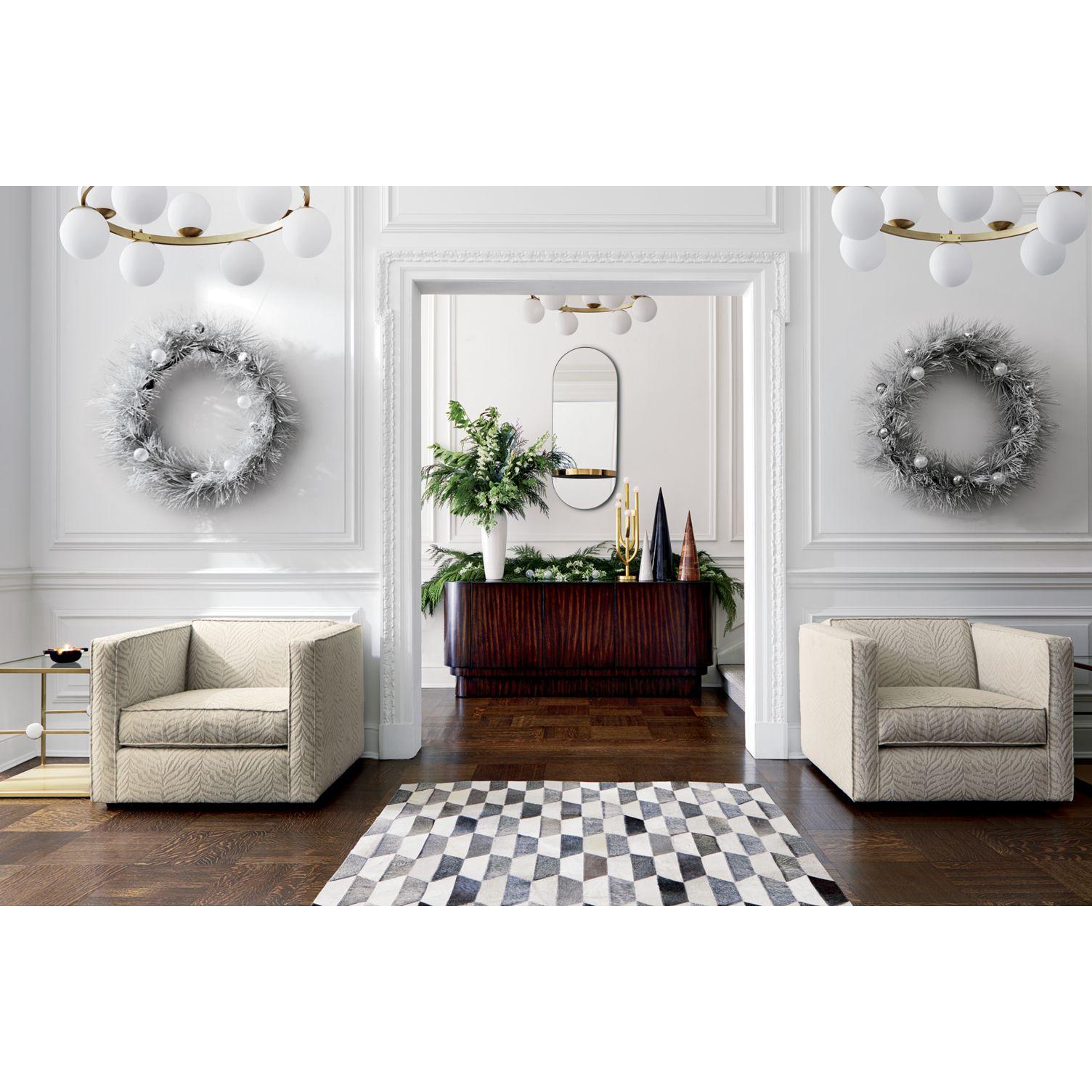Glamorous holiday interior