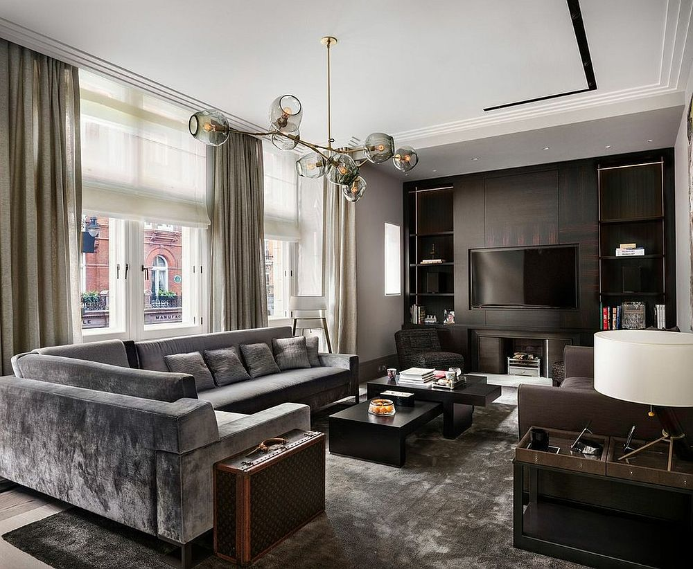 Pleasant 25 Exquisite Gray Couch Ideas For Your Modern Living Room Machost Co Dining Chair Design Ideas Machostcouk
