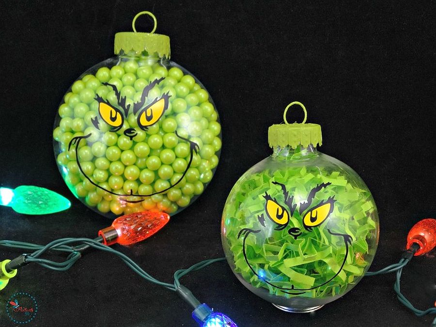 Green meanness of Grinch adds a bit more fun to your Christmas lighting scheme