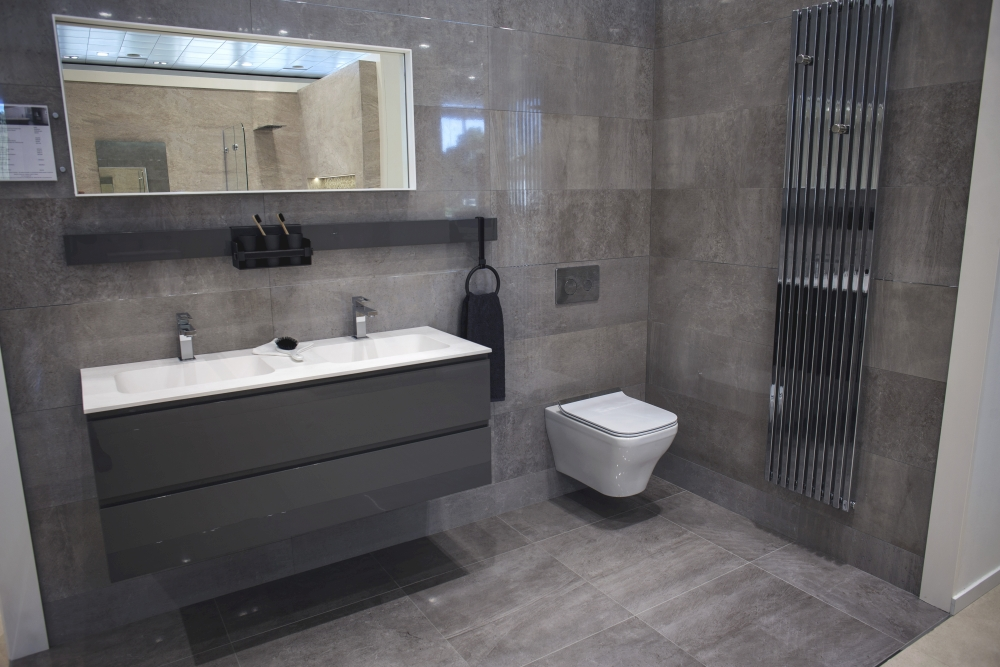 Grey inspiration modern bathroom ceramics