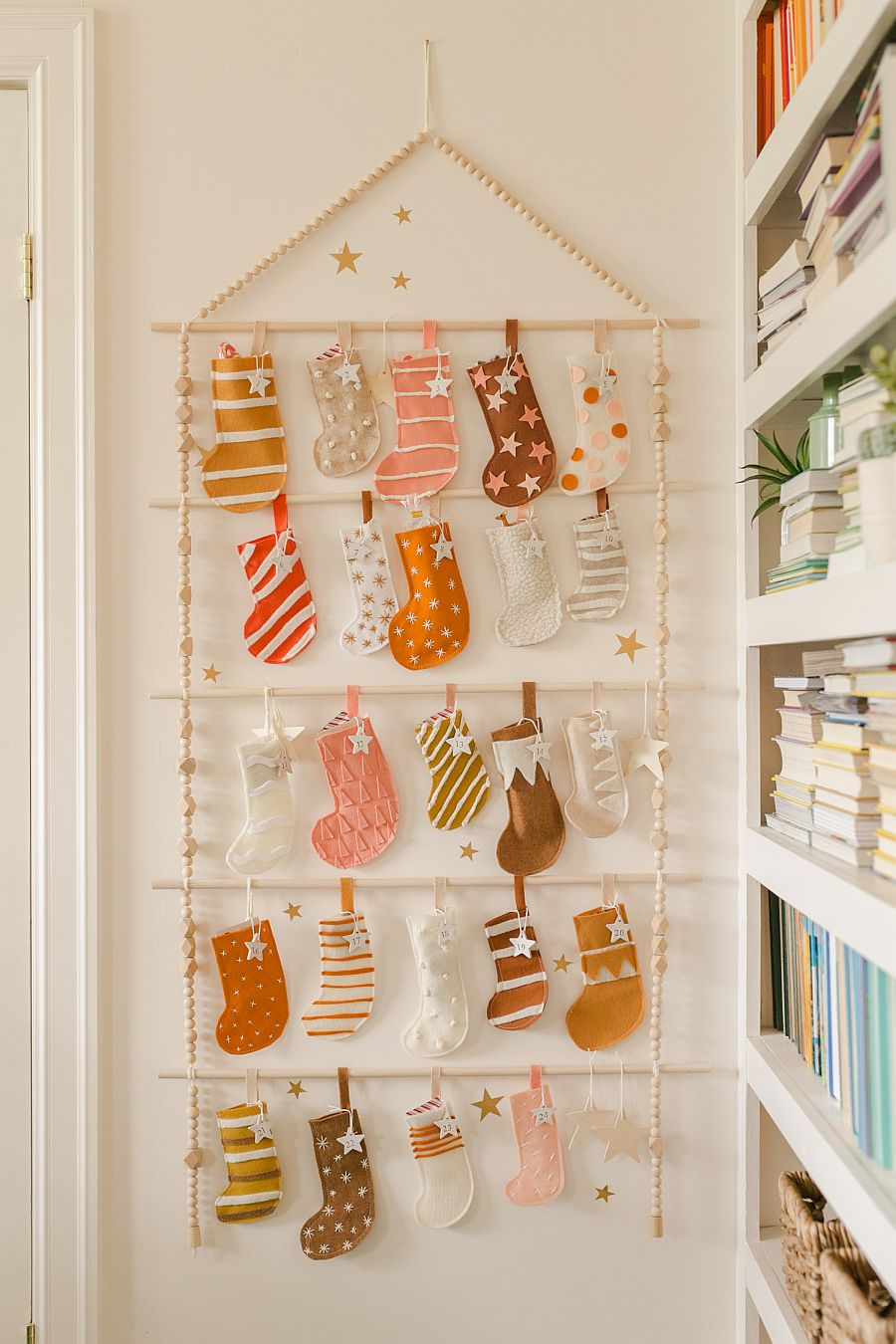 Heirloom Advent Calendar DIY adds festive mood to your home