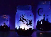 Magical-DIY-Christmas-Lantern-crafted-using-Mason-Jars-217x155