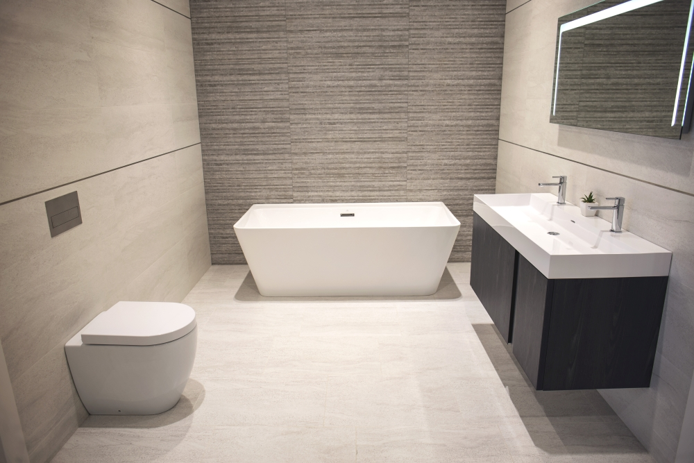 Modern bathroom design – Porcelanosa Reading