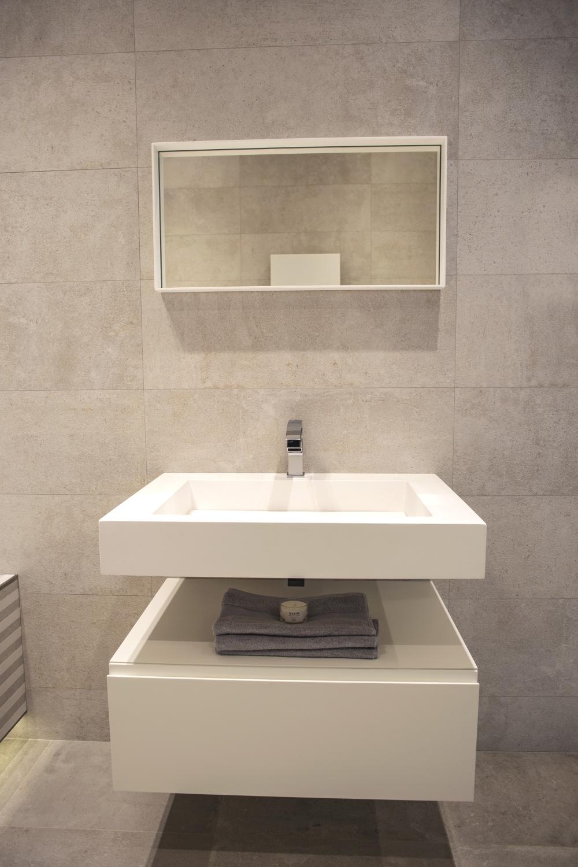 Modern bathroom vanity – Porcelanosa bathrooms