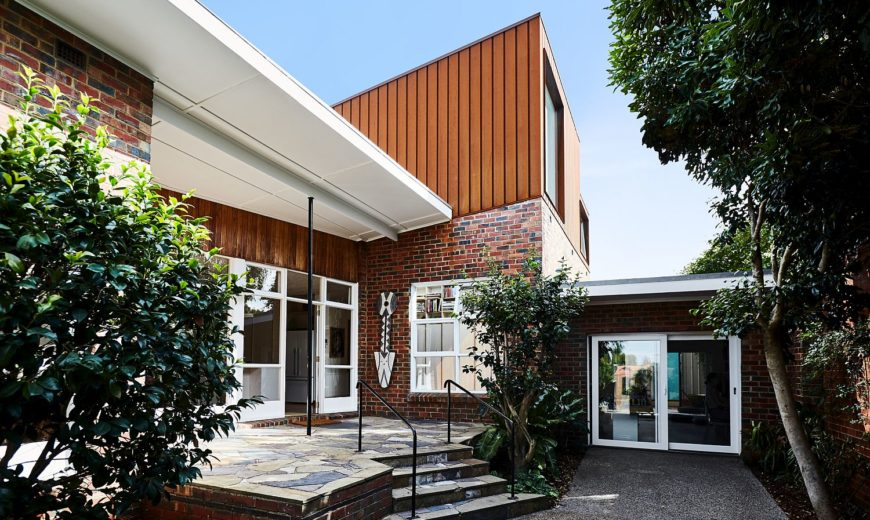 1950's Suburban Home in Melbourne with Ingenious Second Floor Extension