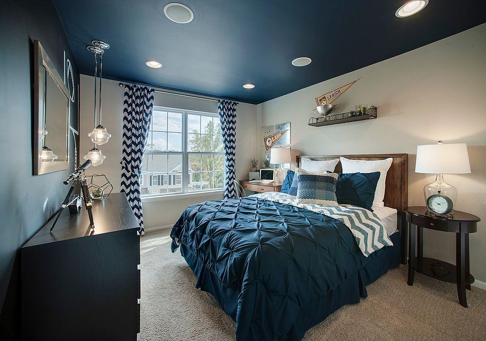 Navy-blue-ceiling-inside-the-transitional-kidsroom